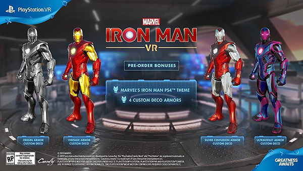 Marvel's Iron Man VR — Pre-Order