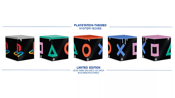 PlayStation — Mystery Boxes