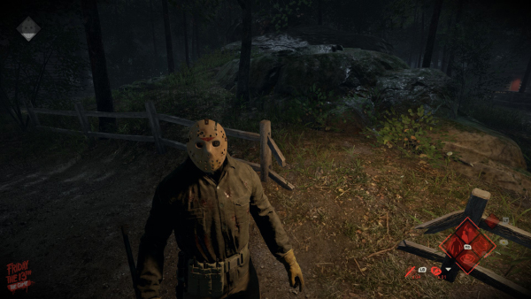 Friday The 13th: The Game — Fence After Jason Love Tap