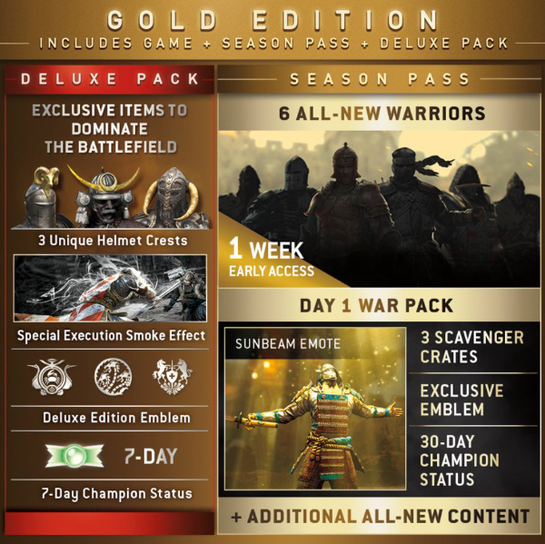 For Honor — Season Pass