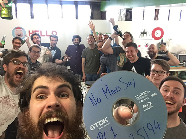 No Man's Sky — Goes Gold