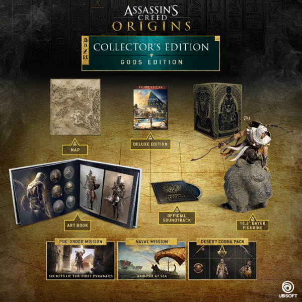 Assassin's Creed Origins — Gods Collector's Edition