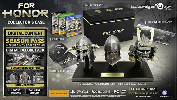 For Honor — Collector's Box