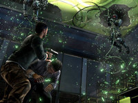 Splinter Cell Conviction Screens Sneaking Out