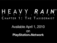 Mini Review: The Heavy Rain Chronicles: The Taxidermist