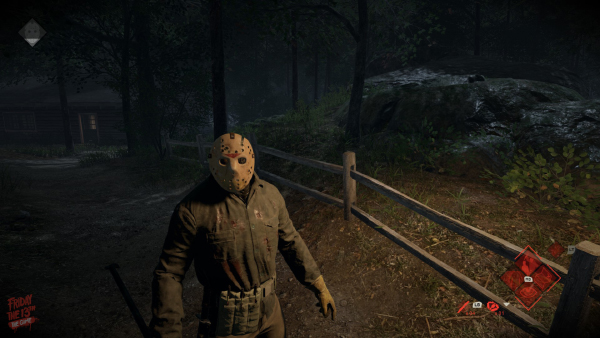 Friday The 13th: The Game — Intact Fence