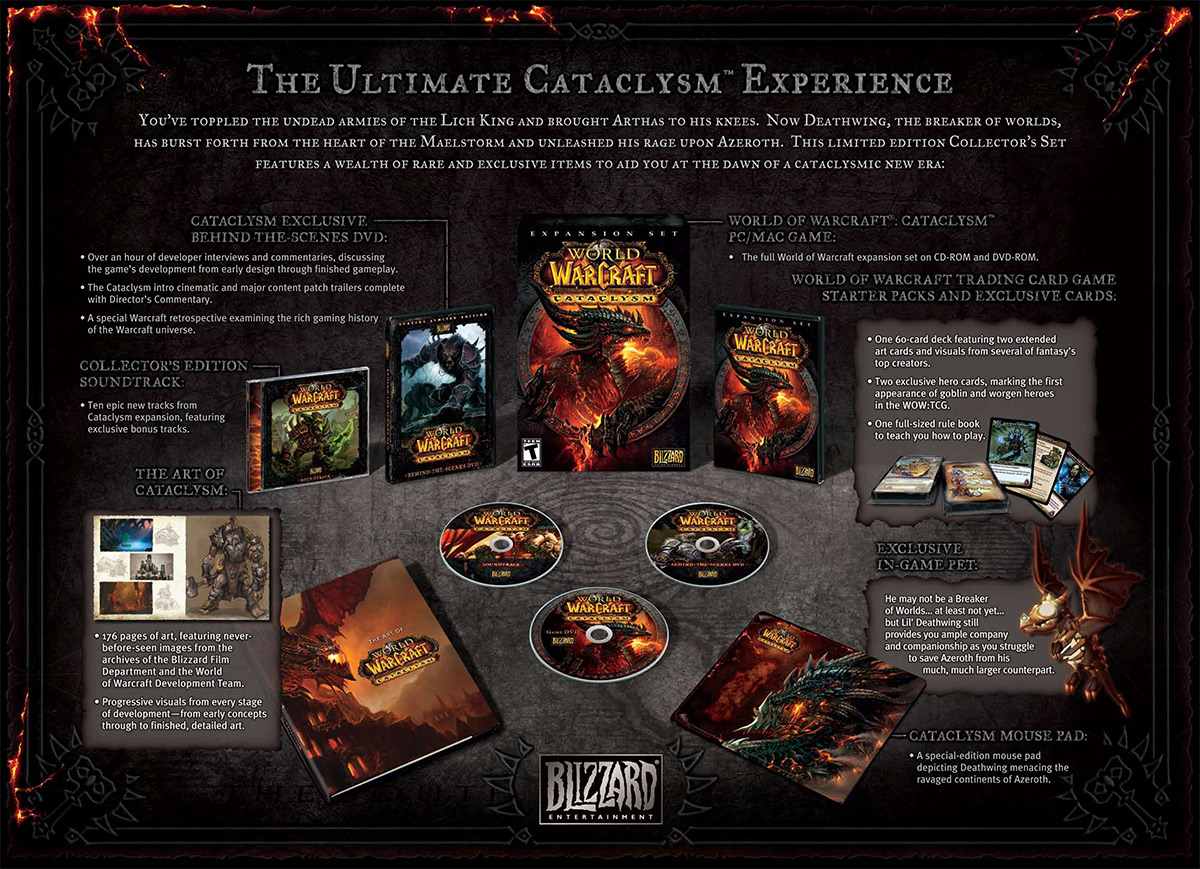World of Warcraft: Cataclysm Collector's Edition - Macintosh - IGN