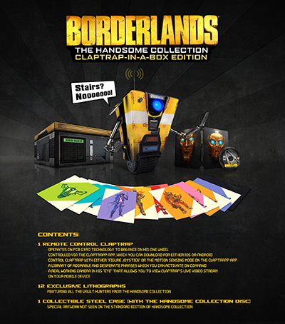 Borderlands: The Handsome Collection — Claptrap-In-A-Box Edition