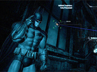 Batman Arkham City Covered In Blue Haze Too