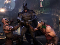 Batman Teaching Lessons On Sharing In Arkham City
