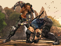 Jax Fights The Law In Mortal Kombat And Wins