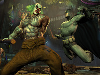 Batman Catches The Armed Man In Arkham City, Also A Release Date