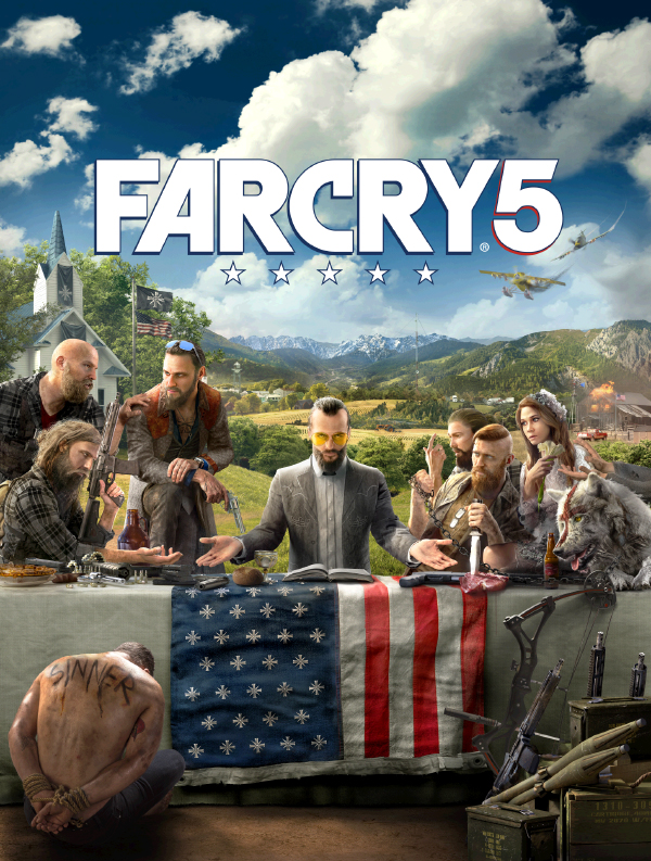 Far Cry 5 — Key Art