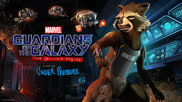Guardians Of The Galaxy — Under Pressure
