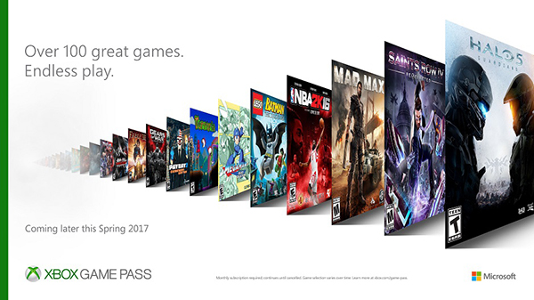 Xbox Game Pass — Unlimited Access To More Than 100 Games