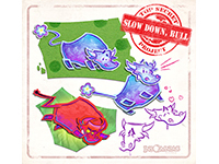 Insomniac Games Is Experimenting With Slow Down Bull