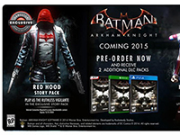 Looks Like We Get To Go Under The Red Hood In Batman: Arkham Knight