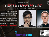 Watch The Metal Gear Solid V: The Phantom Pain Gamescom Preview Right Here