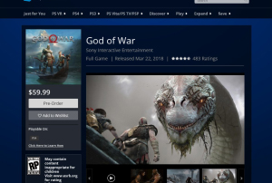 God Of War — Release Date