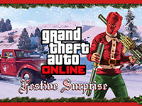 Grand Theft Auto V Online Is Getting Festive Without Heists