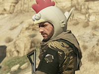 A Better Look At The Metal Gear Solid V: The Phantom Pain Chicken Hat