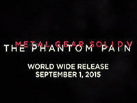 We Have A Metal Gear Solid V: The Phantom Pain Release Date