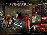 Metal Gear Solid V: The Phantom Pain's Collector Edition & New MGO Info