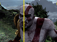 Let's Compare More God Of War III Remastered To The Original
