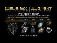 Deus Ex: Mankind Divided Release Date Revealed & Augmentation Begins