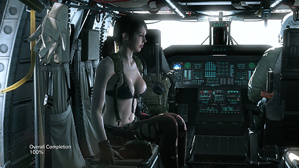 Metal Gear Solid V: The Phantom Pain — Quiet