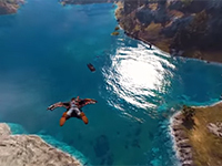 Get A 360° Feel For Just Cause 3's Wingsuit Gameplay