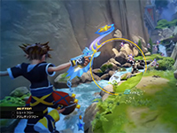 New Kingdom Hearts 3 Combat Footage To Gaze Upon In Development