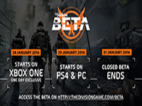 The Division's Beta Is Going To Be Here Before January Ends