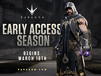 Paragon Will Be Going Into 'Early Access' Real Soon