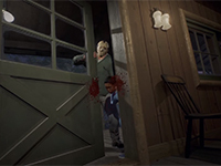 Don't Let The Door Hit You In The Head In Friday The 13th: The Game