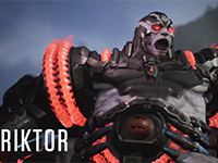 Paragon Gets A New Cyborg Support-Tank Named Riktor Next Week
