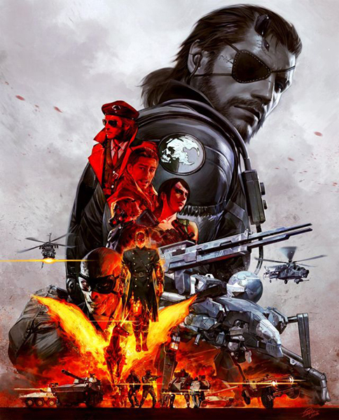 Metal Gear Solid V: The Definitive Experience — The Box
