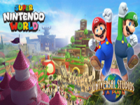 The First Super Nintendo World Now Has An Opening Window