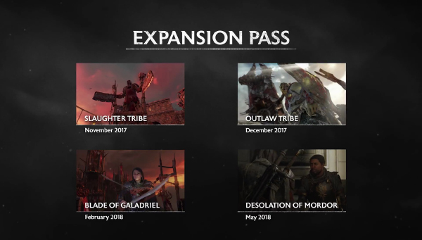 Middle-Earth: Shadow Of War — Expansion Pass