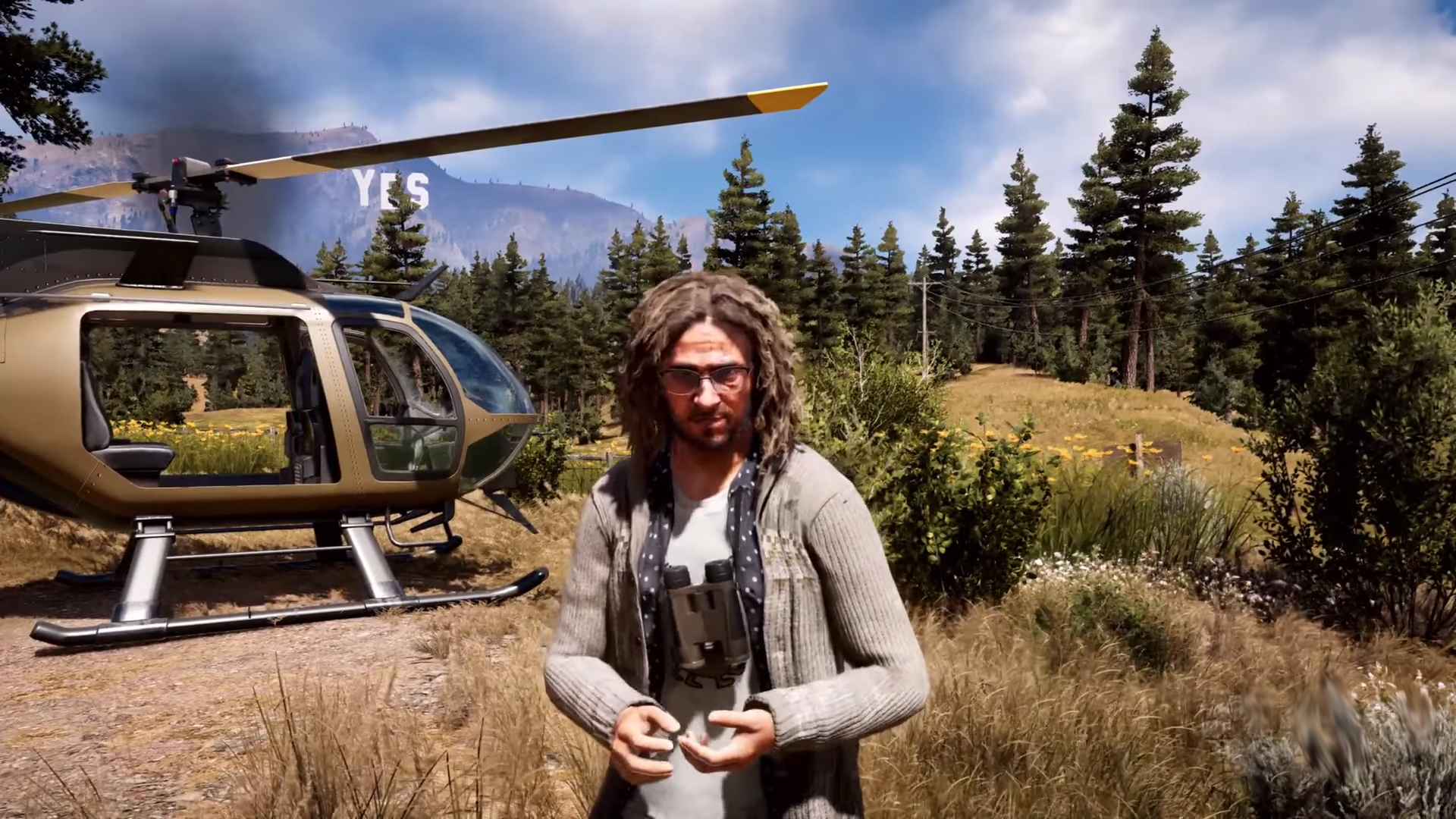 See The Truth With Your Own Eyes With Far Cry 5 S Larry Parker Aggrogamer Game News