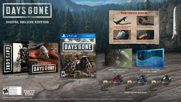 Days Gone — Digital Deluxe Edition