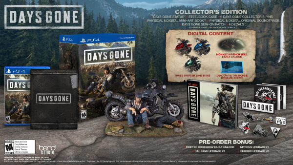 Days Gone — Collector's Edition