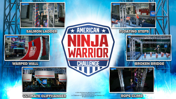 American Ninja Warrior Challenge — Obstacles