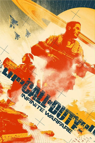 Call Of Duty: Infinite Warfare — Lithograph