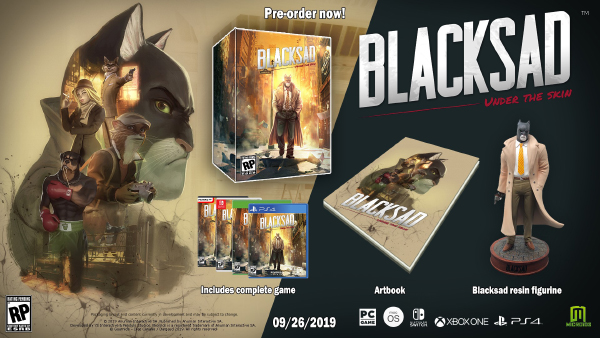 Blacksad: Under The Skin — Collector's Edition