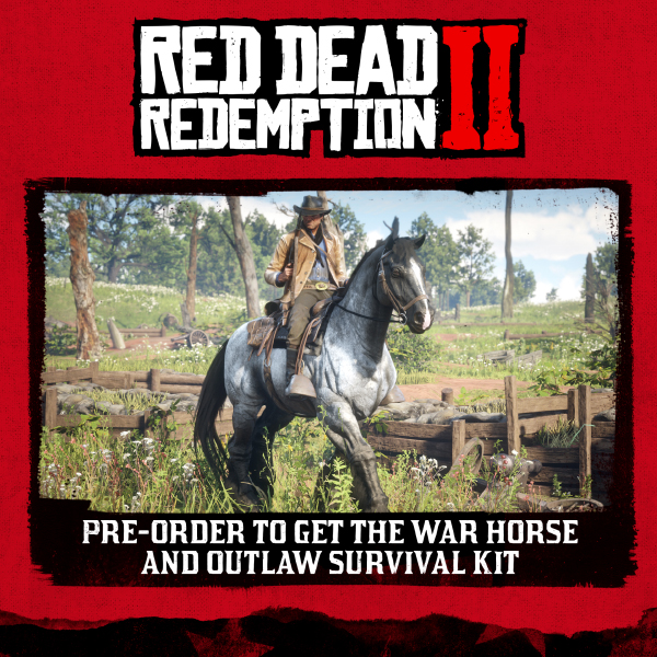 Red Dead Redemption 2 — Pre-Order