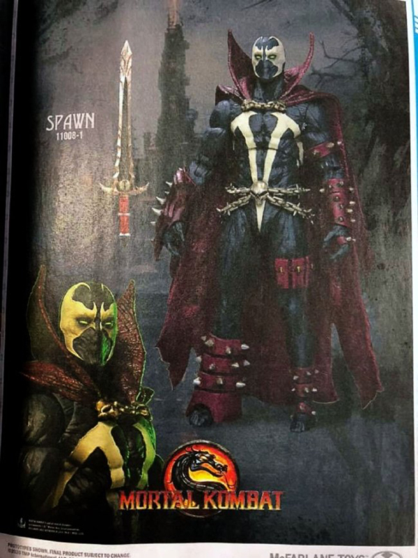 Mortal Kombat 11 — Spawn