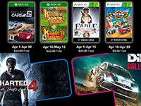 Free PlayStation & Xbox Video Games Coming April 2020