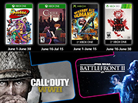 Free PlayStation & Xbox Video Games Coming June 2020