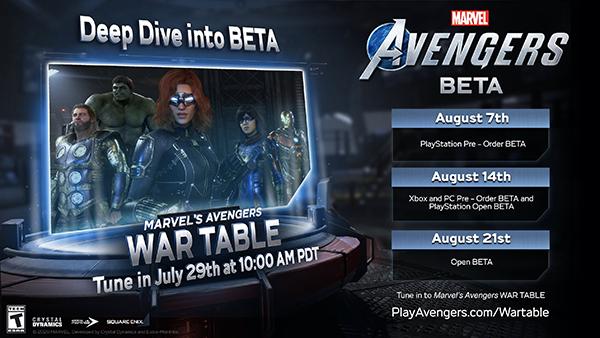 Marvel's Avengers — Beta
